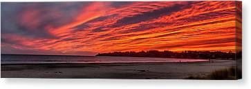 Canvas Print - Stinson Beach Sunset by Bill Gallagher