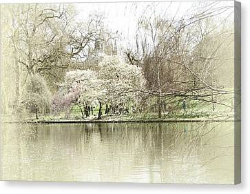 St. James Park London Canvas Print