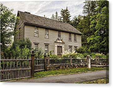 Frame House Canvas Print - Stockbridge Mission House by Stephen Stookey