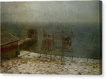 Stockfish Dryers Canvas Print