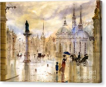 Stockholm II Canvas Print by Svetlana and Sabir Gadghievs