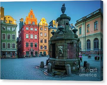 Stockholm Stortorget Canvas Print