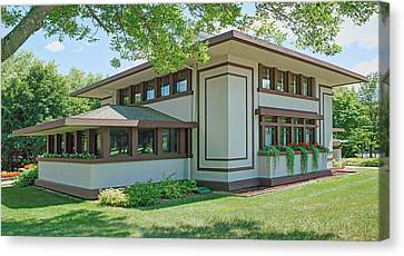 Stockman House - Frank Lloyd Wright Canvas Print by Nikolyn McDonald
