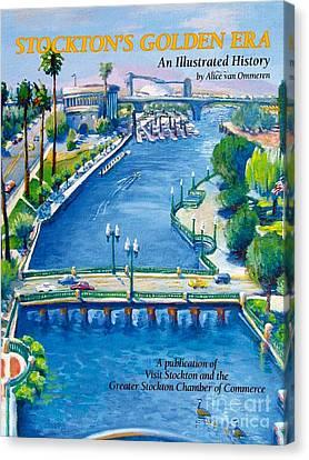 Stockton S Golden Era Canvas Print