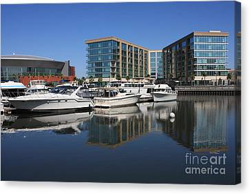 Stockton Waterscape Canvas Print by Carol Groenen