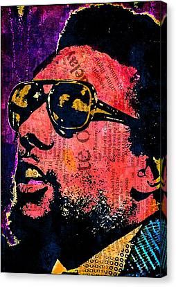 Black Panther Party Canvas Print - Stokely Carmichael by Otis Porritt