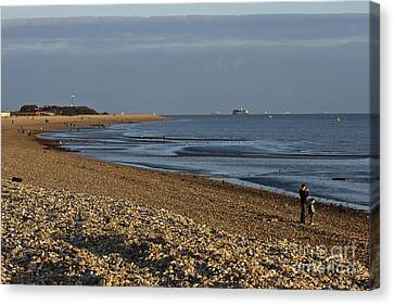 Stokes Bay England Canvas Print