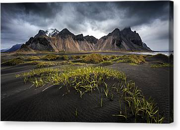 Stokksnes Canvas Print by Sus Bogaerts