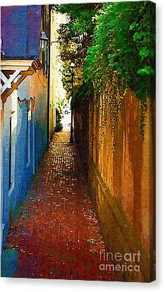 Stoll's Ally Canvas Print by Donna Bentley