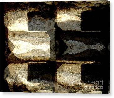 Stone Abstract Canvas Print