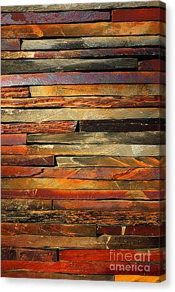 Ancient Canvas Print - Stone Blades by Carlos Caetano
