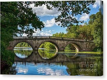 Stone Bridge Over The River 590  Canvas Print