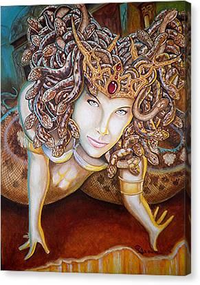 Stone Cold Beauty Canvas Print by Al  Molina