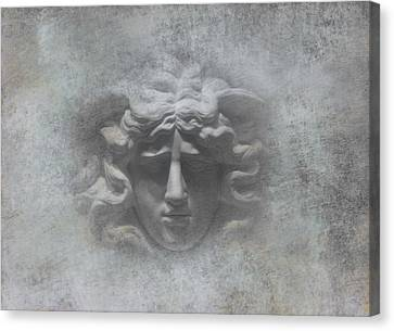 Stone Cold Heart Canvas Print by Daniel Hagerman