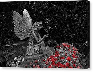 Stone Fairy Canvas Print