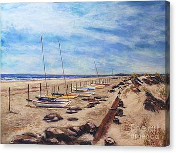 Stone Harbor Canvas Print by Joyce A Guariglia