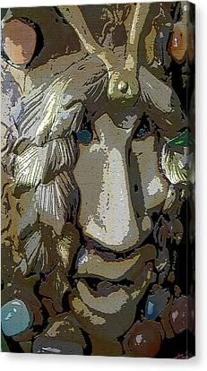 Stone King 1 Canvas Print