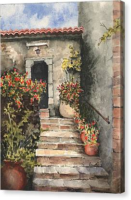 Stone Steps Canvas Print by Sam Sidders