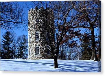 Stone Tower Canvas Print by Lois Lepisto