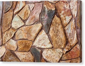 Stone Wall Canvas Print by Boyan Dimitrov