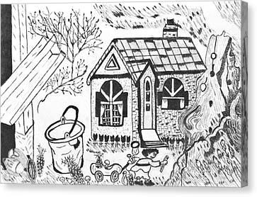 Stonegate Cottage Canvas Print