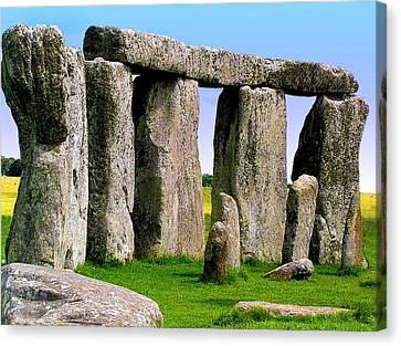Stonehenge - England Canvas Print by Jen White