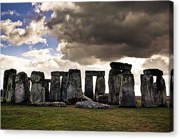 Stonehenge After The Storm Canvas Print by Justin Albrecht