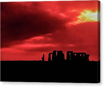 Stonehenge II Canvas Print by Steve Harrington