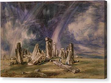 Stonehenge Canvas Print by John Constable