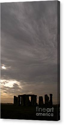 Canvas Print featuring the photograph Stonehenge by Louise Fahy