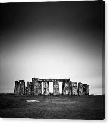 Stonehenge Canvas Print - Stonehenge by Nina Papiorek