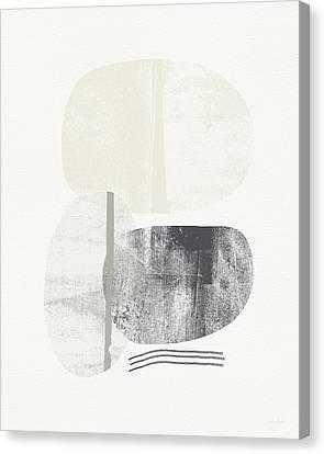 Stones 2- Art By Linda Woods Canvas Print by Linda Woods