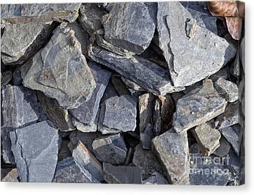 Stones Canvas Print by Michal Boubin