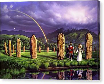 Stones Of Years Canvas Print