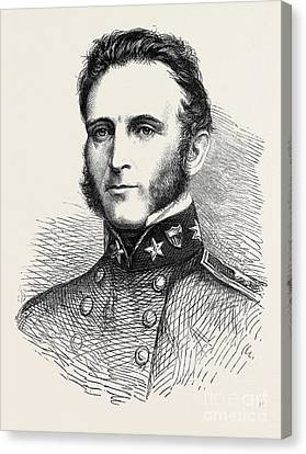 Stonewall Jackson Canvas Print