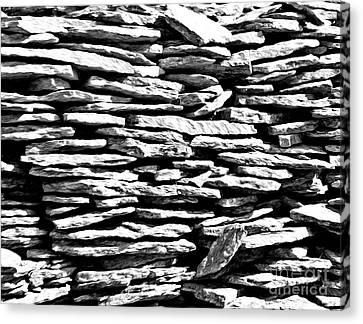 Stonework Canvas Print by Evgeniy Lankin