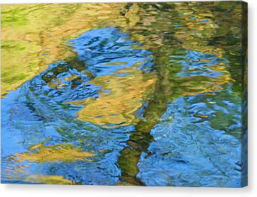 Canvas Print featuring the photograph Stony Creek by Sherri Meyer