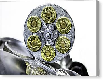 Stopping Power Canvas Print by JC Findley