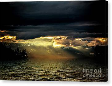 Storm 4 Canvas Print by Elaine Hunter