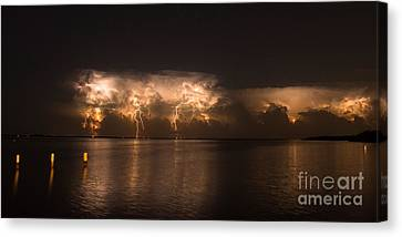 Storm Before Dawn Canvas Print