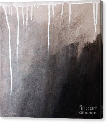 Storm Brewing Canvas Print by Linda Woods
