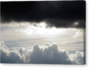 Storm Clouds 3 Canvas Print by Andee Design