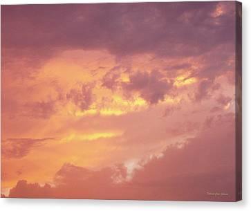 Storm Clouds Canvas Print by Deborah  Crew-Johnson