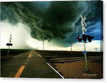 The Rough Road Ahead Canvas Print by Brian Gustafson