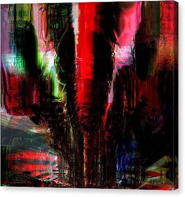Storm Canvas Print by Fania Simon