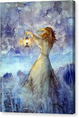 Storm... Canvas Print
