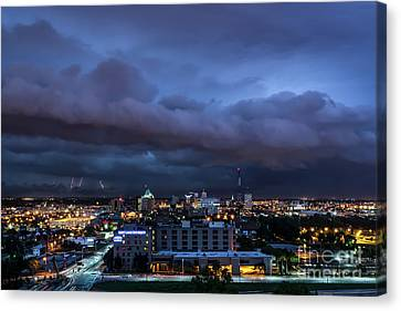 Storm Front Canvas Print by Andrea Silies