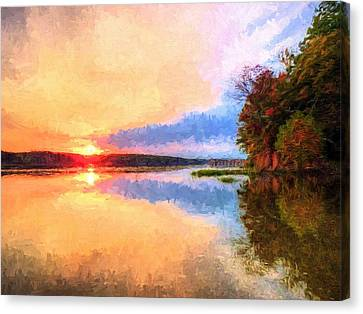 Storm Front Canvas Print by JC Findley