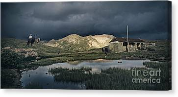 Storm Canvas Print - Storm Is Coming by Aged Pixel