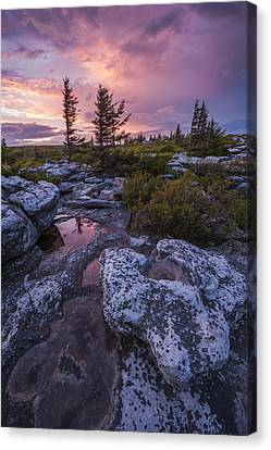 Storm Light Canvas Print by Joseph Rossbach